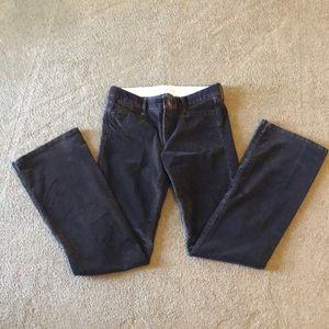 Banana Republic bootleg corduroy pants